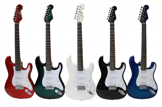 B4 三麥克電吉他(Fender型)-套裝 1