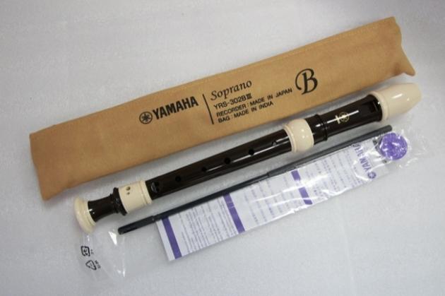 C82A Yamaha直笛(高音) YRS-302BIII 1