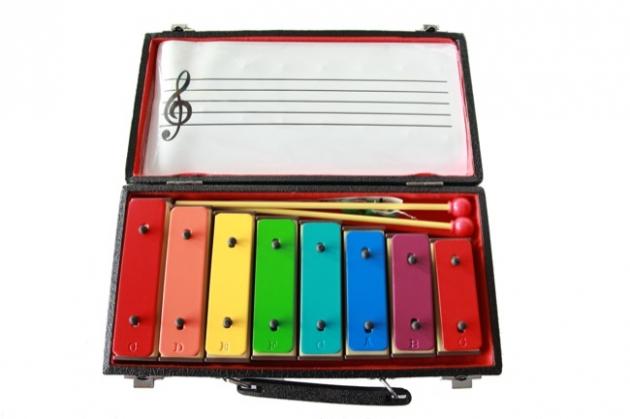 C109 彩色音磚8音C-C(附盒)台製 1