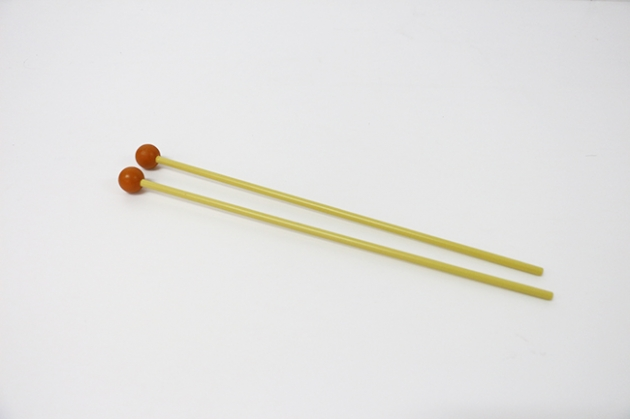 C115 木琴棒(付)橘塑頭 1