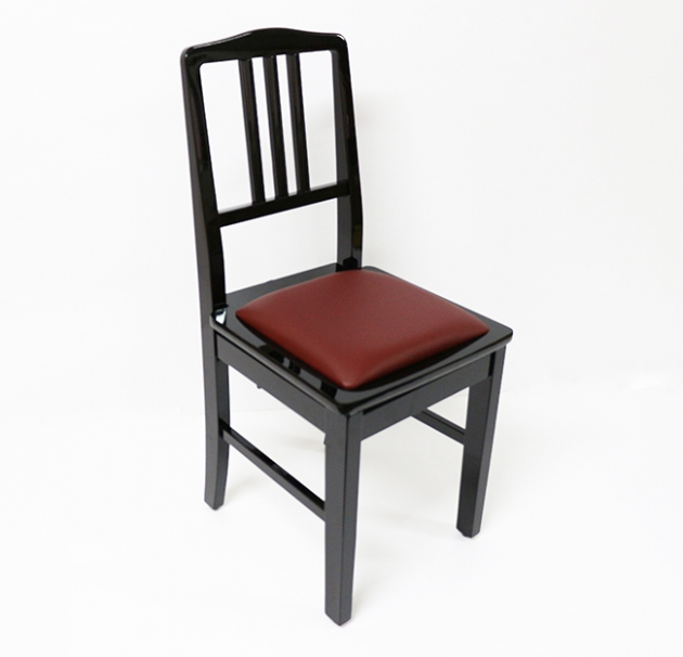 E34 升降椅(靠背式)黑.棕.紅 1