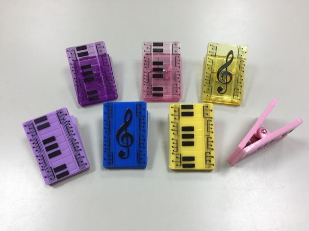 Y104 鍵盤音符夾 1