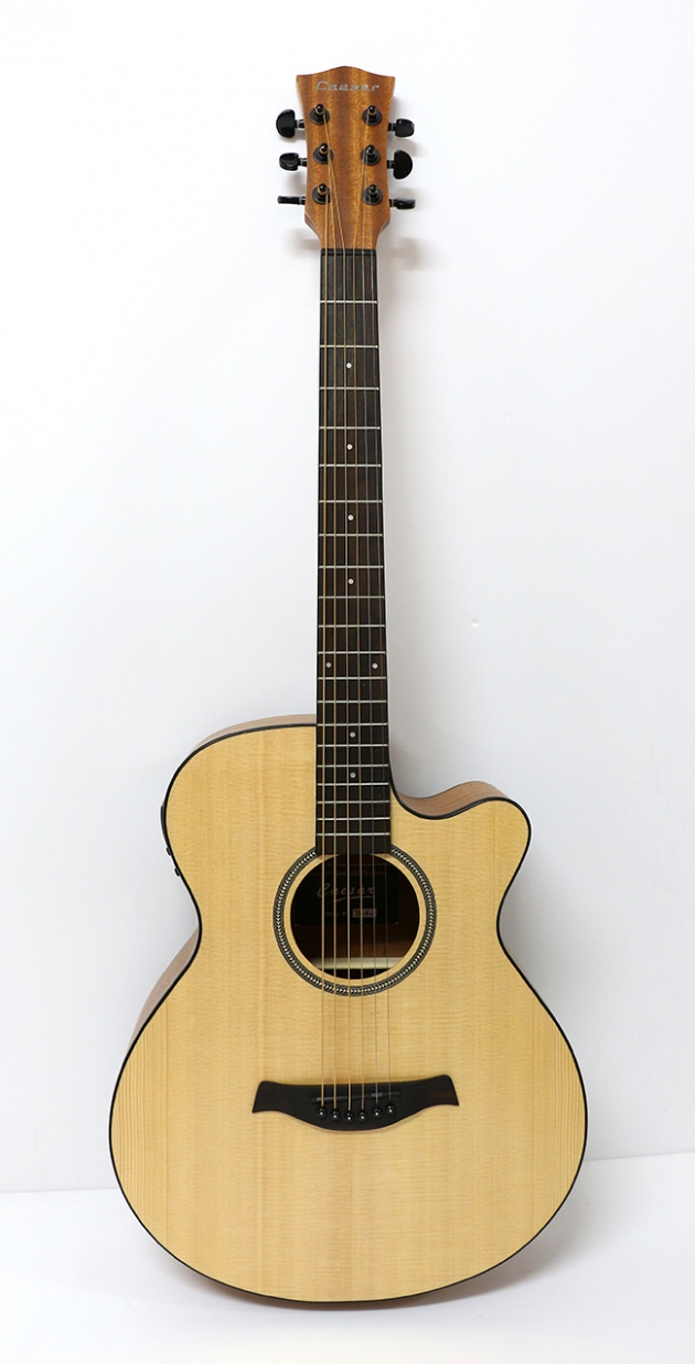 AGTQ5CEQ 39吋面單缺角民謠吉他+5EQ $8000 1