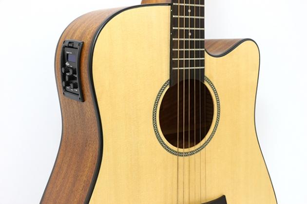 AGTK6CEQ 41吋面單缺角民謠吉他+5EQ $8600 2