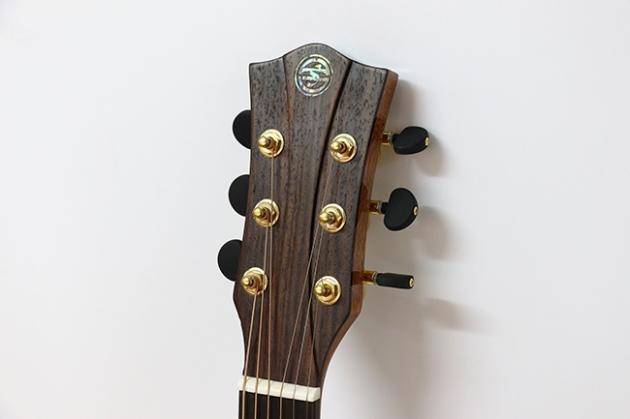 AGAK500 41吋全單板 西提卡雲杉,非洲桃花芯 民謠吉他(配送貼皮木盒) 3
