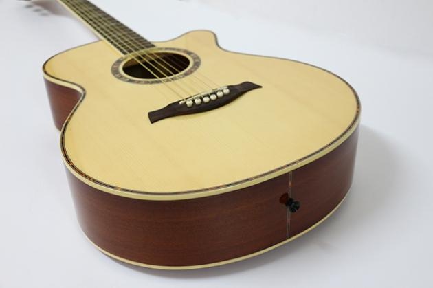 AG4063C-39吋民謠吉他缺角(雲杉沙比利)亮光 定價6000 5