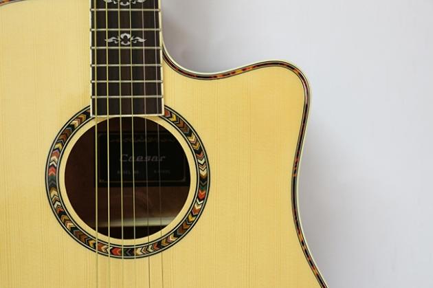 AG4163C-41吋民謠吉他缺角(雲杉沙比利)亮光 定價6500 3