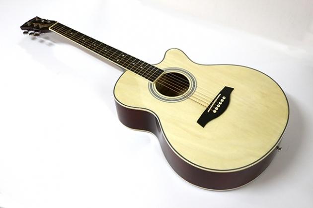AG4113-39吋民謠吉他缺角-亮光 (原木色) 定價2600 1