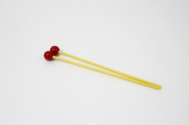 C115 木琴棒(付)紅木頭(硬)短 1