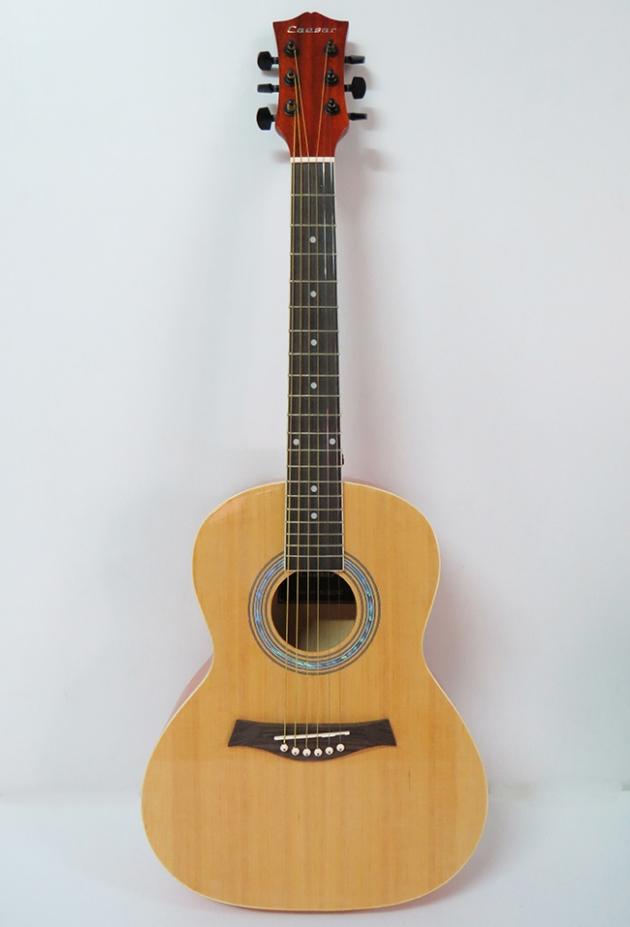 AGX3621 36吋民謠吉他-背中線(雲杉椴木/桃花芯琴頸) 1