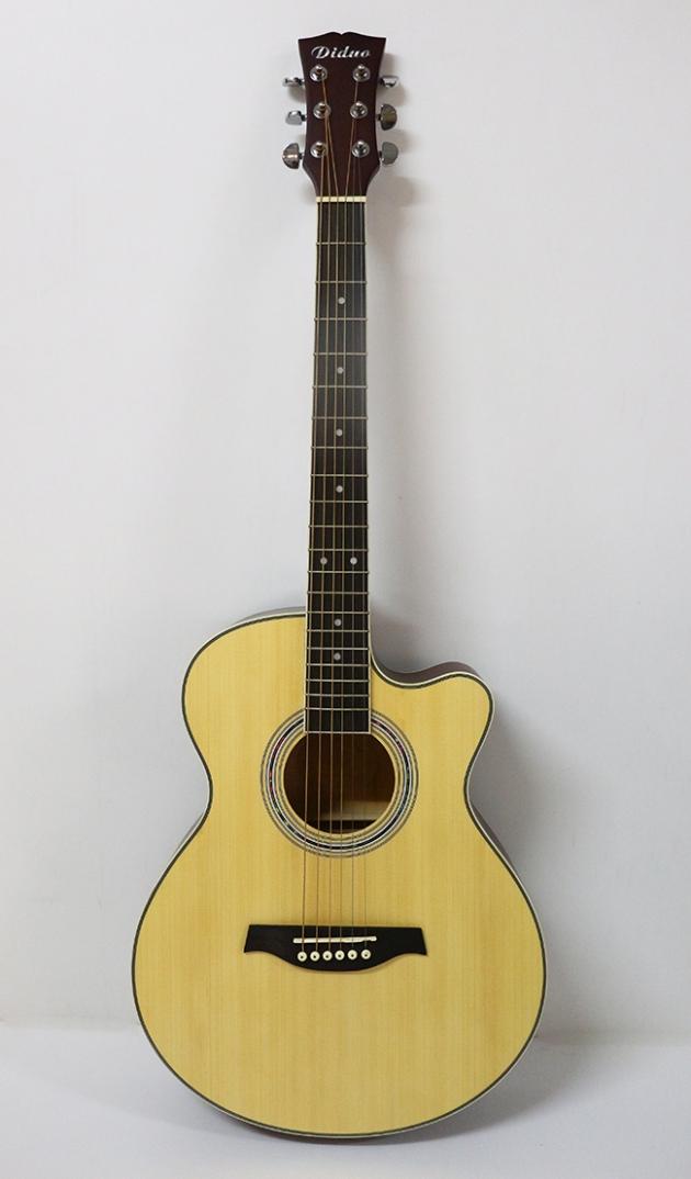 AGDG220CX-40吋民謠吉他缺角-面雲杉/側後椴木(平光) 定價3000 1