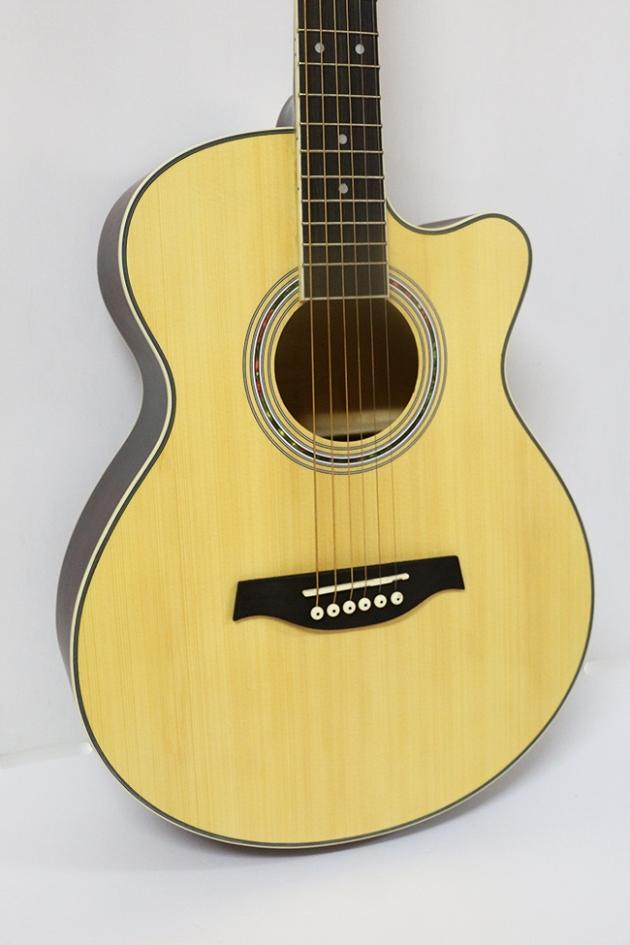 AGDG220CX-40吋民謠吉他缺角-面雲杉/側後椴木(平光) 定價3000 2