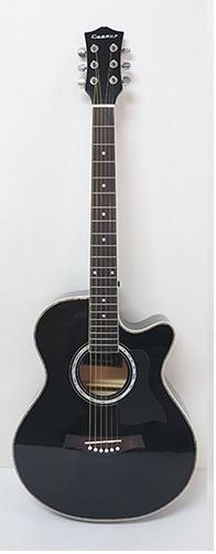 AGX401C-39吋民謠吉他缺角-亮光 (貝殼鑲邊/背中線) 原木色/黑色/雙色/藍色 定價3000 2