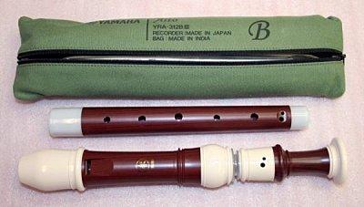 C84B Yamaha直笛(中音) YRA-312/314BIII 1