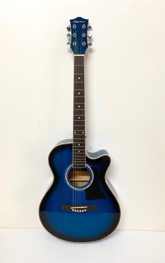 AGX401C-39吋民謠吉他缺角-亮光 (貝殼鑲邊/背中線) 原木色/黑色/雙色/藍色 定價3000 4
