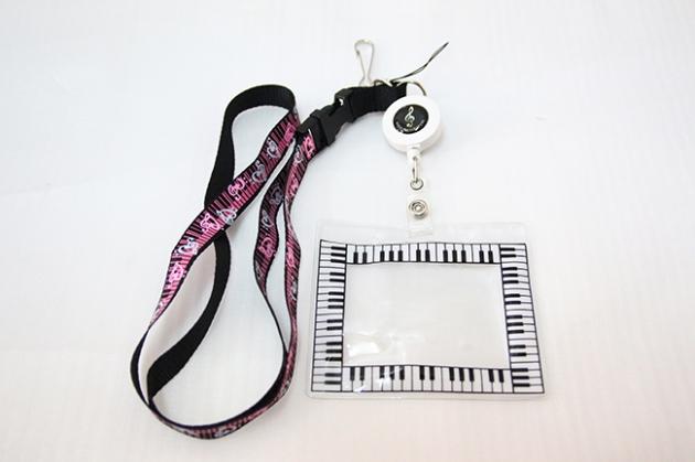 Y678 音符鍵盤識別證 1